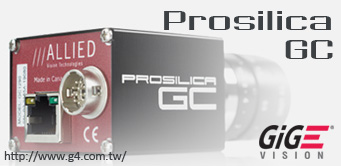 Alliedvision GigE Vision camera Prosilica GC